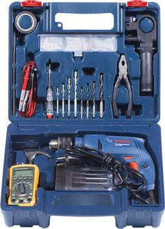 Bosch GSB 550 - Electrician Power Tool Kit (80 Tools) Price in India