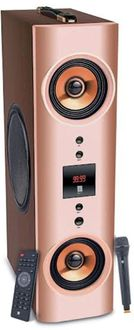 iball Karaoke Booster Tower 2.1 Channel Tower Speaker Price in India