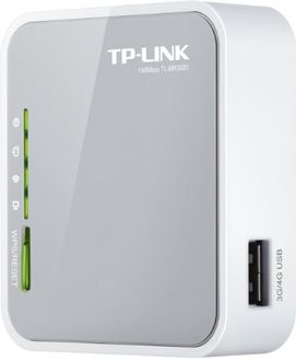 TP-LINK TL-MR3020 Portable 3G/3.75G/4G Wireless N Router Price in India