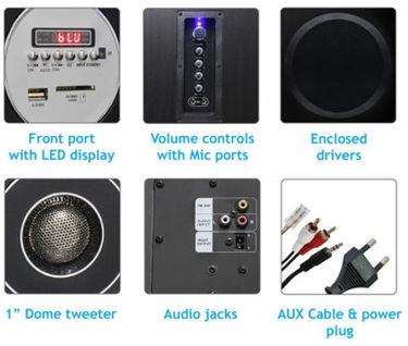 Zebronics Zeb-T9500RUCF Multimedia Speakers Price in India