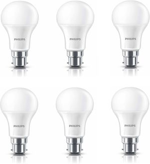 Philips Ace Saver  9W B22 825L Round LED Bulb (White, Pack of 6) Price in India