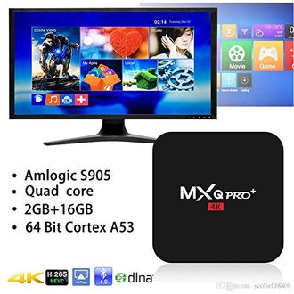 Microware MXQ Pro Plus Amlogic S905x Android 5.1 Smart TV Box Price in India