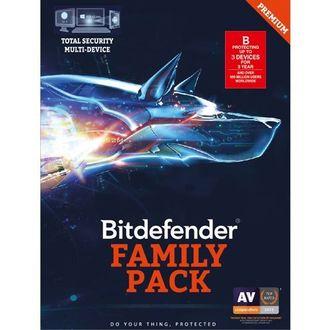 Bitdefender Family Pack 2017 3 PC 3 Year Antivirus (Activation Key) Price in India