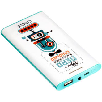 Circle Nerd Designer 5200mAh Power Bank Price in India