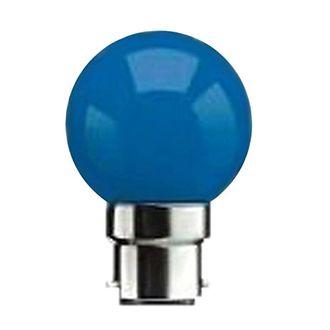 Orange Plus 0.5W B22 LED Bulb (Pack Of 8, Blue) Price in India