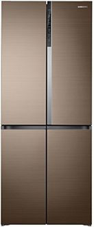 Samsung RF50K5910DP 594 L Inverter Frost Free French Door Refrigerator Price in India