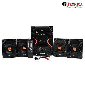 Tronica IT-6363 4.1 Channel Multimedia Speaker Price in India
