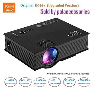 Unic UC46 Plus LED Corded Portable Projector Price in India