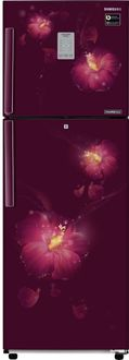 Samsung RT28M3954R3/U3 253 L 4 Star Inverter Frost Free Double Door Refrigerator (Rose Mallow Plum) Price in India