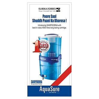 Eureka Forbes AquaSure Sampoorna 15L Water Purifier Price in India