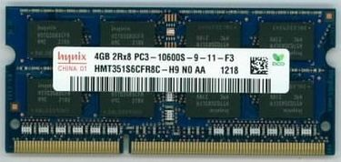 Hynix (HMT351S6CFR8C-H9) 4GB DDR3 Laptop Ram Price in India