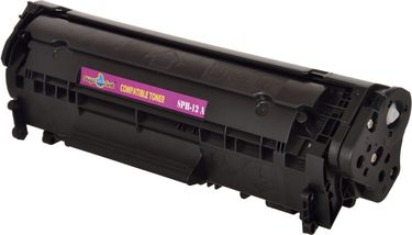 Suproprint SPH12A Black Toner Cartridge Price in India