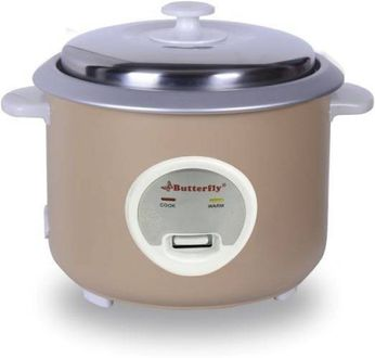 Butterfly Aura 1.8L Electric Rice Cooker Price in India