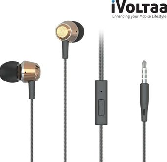 iVoltaa VHP-ME1 Metal Wired Headset Price in India