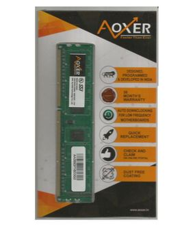 AOXER (AAP16D3G2) 2GB DDR3 Desktop Ram Price in India