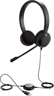 Jabra Evolve 20 UC Duo USB Wired Headset Price in India