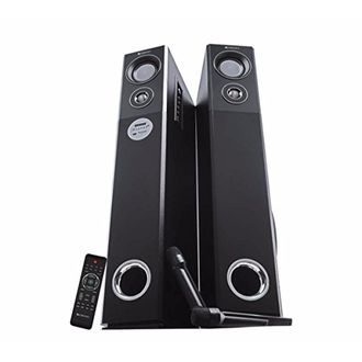 Zebronics BT9500RUCF 2.1 Channel Tower Speaker Price in India