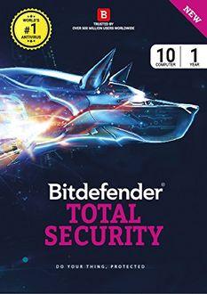 Bitdefender Total Security 2017 10 PC 1 year Antivirus (Activation Key) Price in India