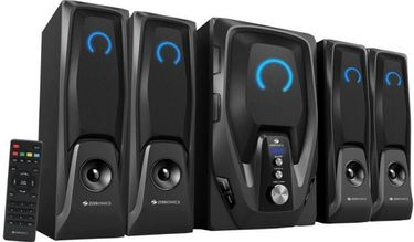 Zebronics Mambo-BT RUCF 4.1 Channel Multimedia Speaker Price in India