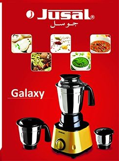Jusal Galaxy 600W Mixer Grinder (3 Jars) Price in India