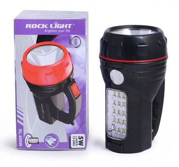 Rocklight RL686W Rechargable Emergency Light Price in India