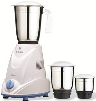 Singer Chefy 500W Mixer Grinder (3 Jars) Price in India