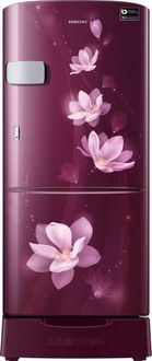 Samsung RR20M2Z2XR7/U7/RR20M1Z2XR7/U7 192 L 5 Star Inverter Direct Cool Single Door Refrigerator (Magnolia ) Price in India