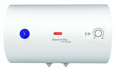 V-Guard Steamer Plus MS ECH 25L Horizontal Water Geyser Price in India