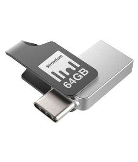 Strontium Nitro Plus 64GB OTG Type-C Reversible USB Pendrive Price in India