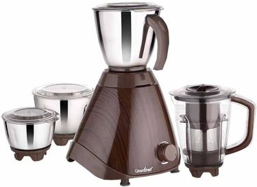 Greenchef Unique 750W Juicer Mixer Grinder (4 Jars) Price in India