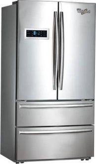Whirlpool 702 FDBM 570 L Inverter Frost Free French Door Bottom Mount Refrigerator Price in India