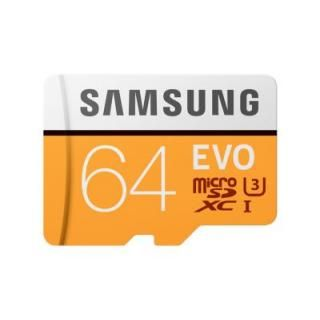 Samsung EVO 64GB Class 10 (100MB/s) Memory Card Price in India