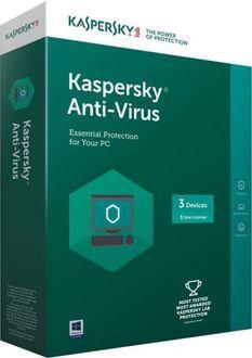 Kaspersky Antivirus 2017 3 PC 3 Year Antivirus Price in India