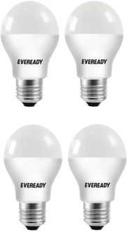 Eveready 5W E27 450L 2700K (Yellow,Pack of 4) Price in India