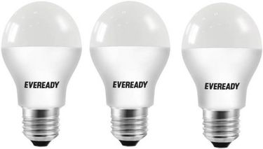 Eveready 7W E27 630L 2700K LED Bulb (Yellow,Pack of 3) Price in India