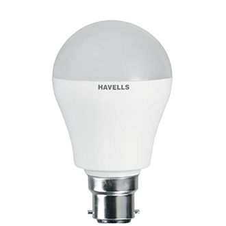 Havells Adore 3W B22 Round LED Bulb (White,Pack Of 2) Price in India