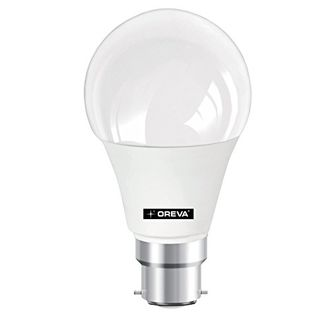 Oreva Premium 9W B22 1175L LED Bulb (White,Pack of 5) Price in India