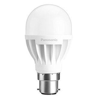 Panasonic 7W B22 Round LED Bulb (White,Pack Of 2) Price in India