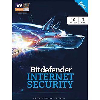 Bitdefender Internet Security 2017 10 PC 3 Year Antivirus (Voucher) Price in India