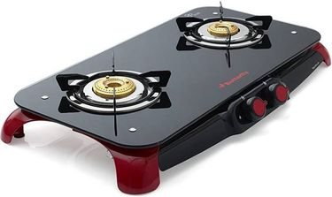 Butterfly Signature 2 Burner Glass Top Manual Gas Stove Hob Price in India