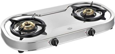 Sunflame Spactra 2 Burner SS Manual Gas Stove Price in India