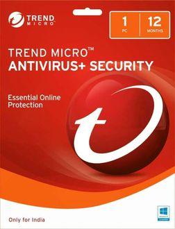 Trendmicro Antivirus & Security 1 PC 1 Year Antivirus Price in India