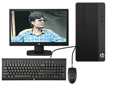 HP 280 G3 MT (Intel Pentium,4GB,500GB,DOS) All In One Desktop Price in India