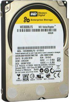 WD (WD3000BLFS) VelociRaptor 300GB Server Internal Hard Drive Price in India