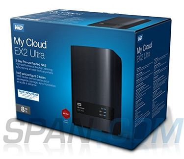 WD My Cloud EX2 Ultra 8TB Network Attached Storage  Price in India