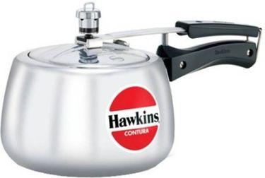 Hawkins contura 030  Aluminium 3 L Pressure Cooker( Inner Lid) Price in India