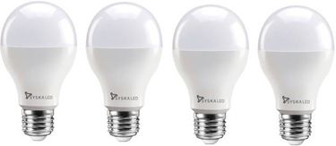 Syska 15W Round E27 1500L LED Bulb (White,Pack of 4) Price in India