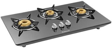 Sunflame CT Hob 3B Glass Automatic Gas Stove Price in India