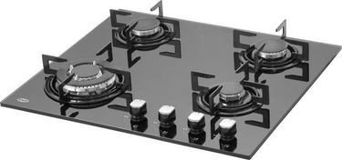 KAFF NE4 B 60GF 4 Burner Glass Automatic Gas Stove Price in India