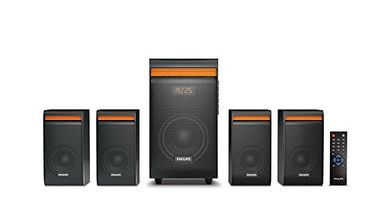 Philips SPA8140B/94 4.1 Channel Multimedia Speaker Price in India